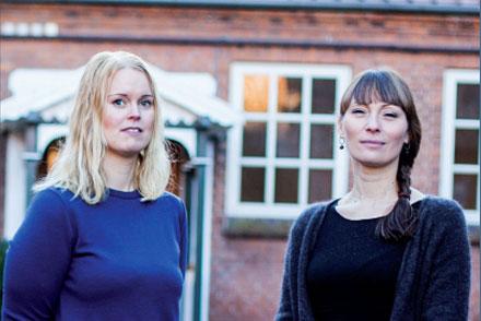 Birgitte Bovbjerg og Janni Strandby