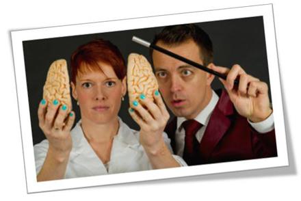 Illusionisten & hjernespecialisten