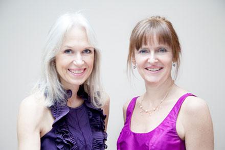 Birgit Lyngholm og Tine Fenger