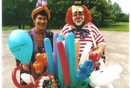 Ballonklovnen Alfred og hans Mor
