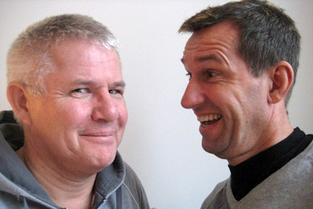 Anders Bircow og Simon Steenholm