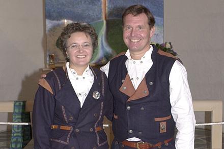 Gia og Filip Gade