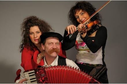 Trio Klezmer med Channe Nussbaum