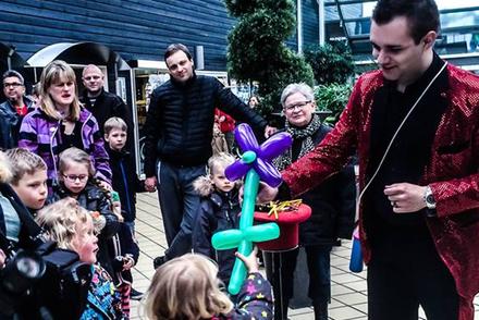 Nicklas Berg - Ballon workshop