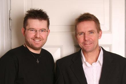 Peder og Hans Jørn Østerby